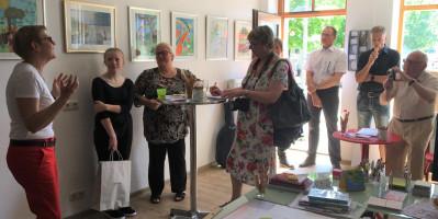 Ausstellung mit Bildern von Kindern aus der Region um Tschernobyl 2018 04 29