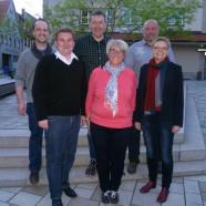 Sabine Dittmar mit den Mellrichstädter Genossen