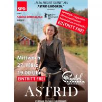 Plakat Astrid Foto: Kino Schneyer
