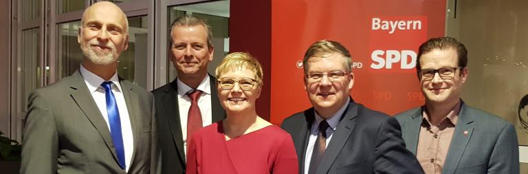 Neujahrsempfang SPD-Kreisverband mit Uli Maly, OB der Stadt Nürnberg