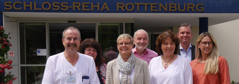 SPD-Delegation besuchte Rottenburger Schlossklinik Bild: Büro Ruth Müller