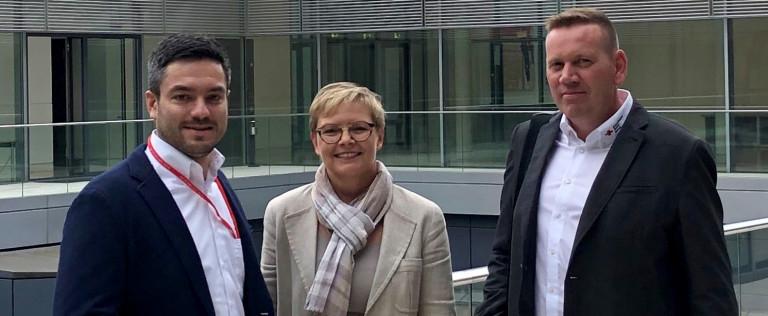 """""""Blaulichtkonferenz"""" der Bundestags-SPD 2019/05"""